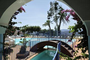 L'esterno all'Arbatax Park Resort