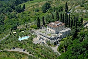 Panorama a Villa La Borghetta