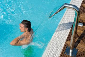 Piscina e getti - Grande Baia Resort & SPA