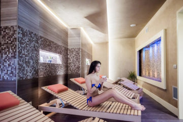 Relaxing area - Hotel Riviera