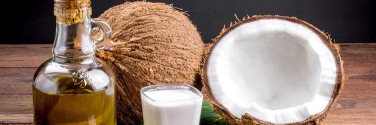 Olio di cocco per pelle e capelli