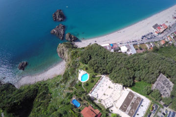 Vista dall'alto del CapoSperone Resort
